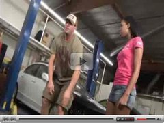 Mahlia Milian Goes To Mechanic And Gets Herself Worked On