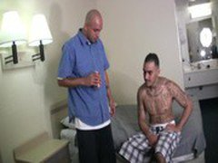 Hot latino thugs fuck each other tight culos bareback