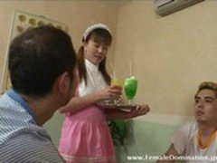 Maid dominated her horny bosses as her way to retaliate