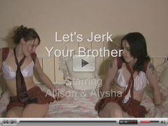 Lets jerk off your friends brother
