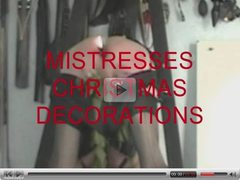 MISTRESSES CHRISTMAS DECORATIONS