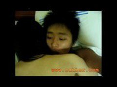 Sexy Hairy Hot  Asian Chick Sex with Boy friend