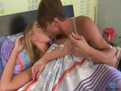 Blonde teen undressed anal rimming