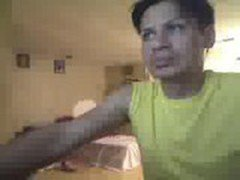 Some latino twink dancing with undies on a popular social camsite