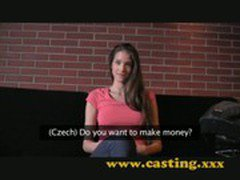 Casting - Fashion model resorts to porn
