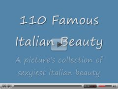 110 celebrities from Italy