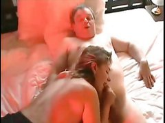 Daddy play with girl