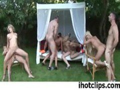 Nothing Is Better Than Sex In Group Outdoor