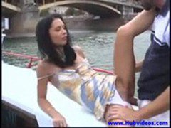 Angelina Crow - I_m on a boat_ and there_s something up my ass
