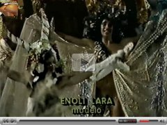 Totally naked parades in Brazil: Enoli Lara