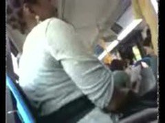 masturbating in front of woman on public bus
