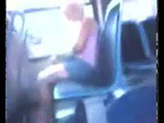 masturbating in front of women on bus