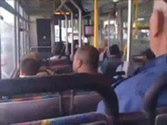 dick on the bus