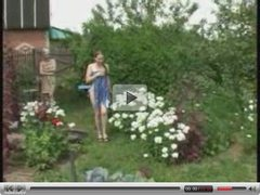 To russian girls nude in the garden
