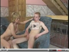 Teenage Lad Seduced By Mom Next Door