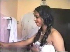 Tamil girl masterbating at home