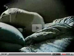 Hidden cam. My mom on bed masturbating