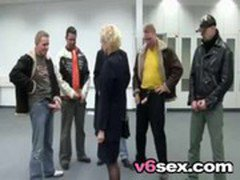 Hot German Mom Gangbanged v6sex free porn