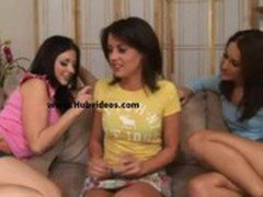 Franchezca loves to play games - Lesbian sex video