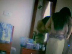 Bangalore aunty changing cloths