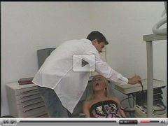 Petite Blonde Tranny Gets it from the Dentist - Chief5612