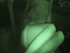 night masturbation in the car