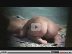 woman jack off  in nudist beach