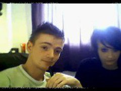 young webcam couple