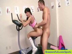 Gia DiMarco Fucked on a Stationary Bike
