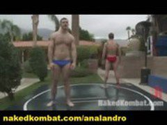 Outdoor Gay Wrestling and Sex Domination