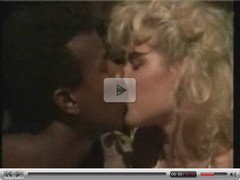 Hot blonde white girl with black lover - Interracial Vintage
