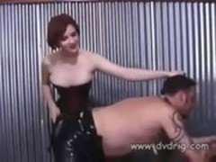 's A Lucky Slave When Mistress Kate Mandala Teaches Him Submissive_short scene
