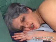 Grey Haired Granny Fucked Till Her Mascara Runs Part2