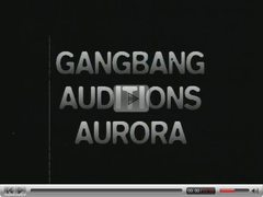 Aurora Snow big gang bang !