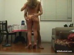 Blonde wife riding the cock - Amateur sex video - Tube8.com