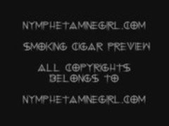 www.nymphetaminegirl.com cigar smoking fetish