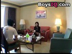 japanese girl Interviewing to fucking on sofa - BoysIQ.com free porn video