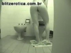 SpyCam - Spying girl on bathroom