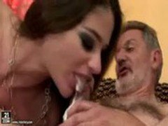 Cathy Heaven Gets Fucked By An Older Guy