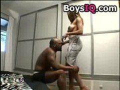BiG ASS AND TiTS GETS BEAT UP BY MR. MaRCUS - BoysIQ.com free porn video