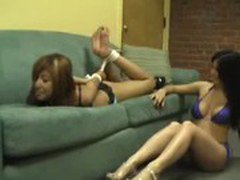 Girl Tied And Tickled