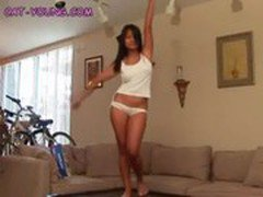 Naked Asian Teen Dances