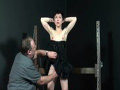 Half japanese masochist Mei Maras spanking discipline and humiliating obedience