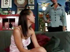 Mature lesbian housewife fucks daughters friend