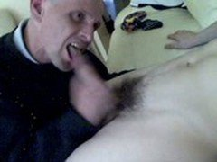 Leon McManus Straight Boy First Ever BJ off His Gay Mate