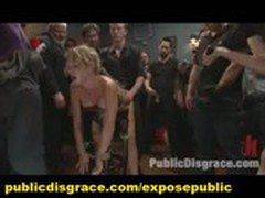 Group BDSM Public Reality Humiliation Spanking and Anal