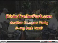 Another FUN Swingers Party in back yard!