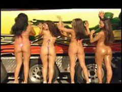 hot sexy almost naked girls in a bikini contest WOW!!