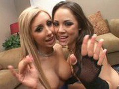 Kristina Rose and Jessica Lynn-Cum Swapping Sluts13