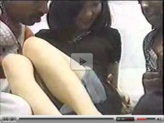 Asian Girl Fucked By Two Black Dicks